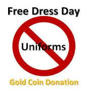 SRC Free Dress Day - Thursday 25 May