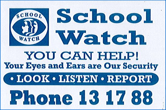 Keep our school safe over the holidays